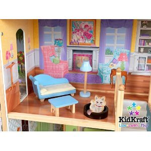 This Majestic Mansion Dollhouse Is Just That U2013 A Mansion. There Are 8  Generously Sized Rooms For Kids To Add Furniture And Make Their Own.