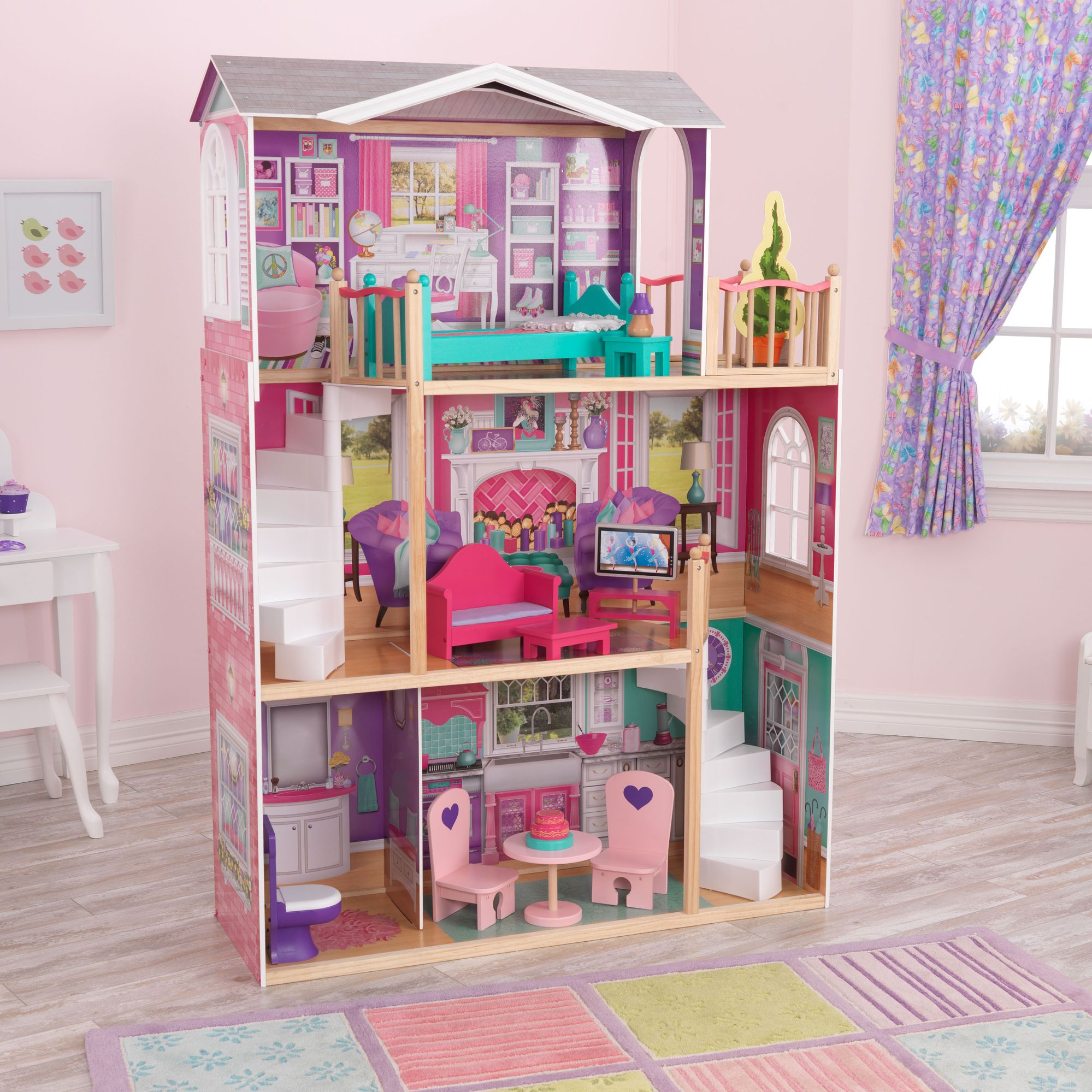 "KidKraft 18"" Elegant Manor dollhouse"