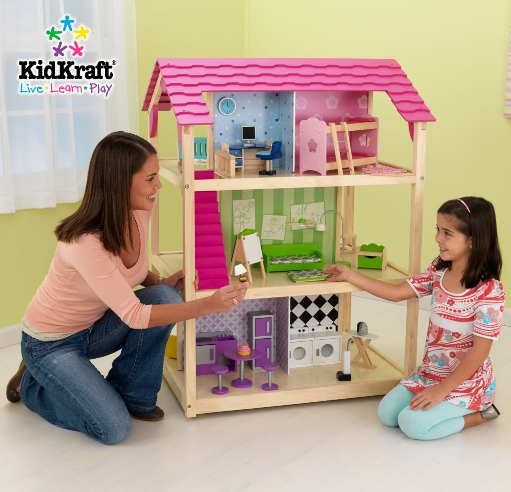 KidKraft So Chic toddler dollhouse - best dollhouse for toddler girl
