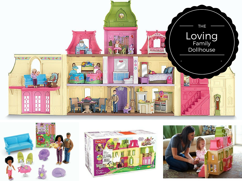 Fisher Price Loving Family Dollhouse review