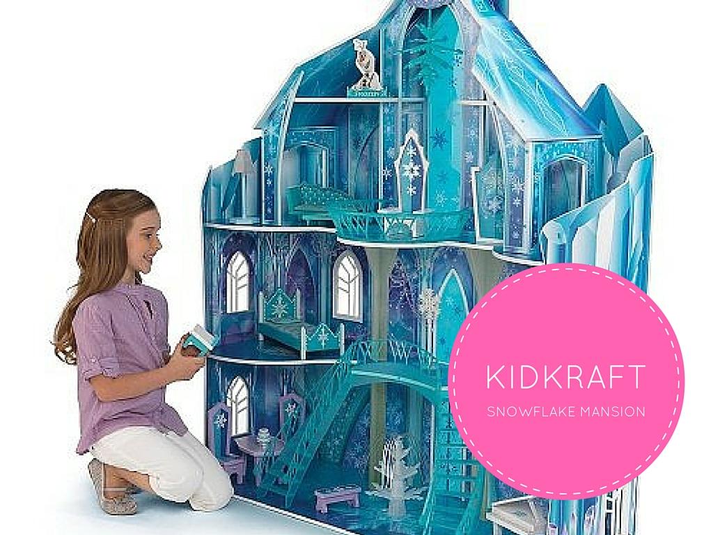 KidKraft Snowflake Mansion review